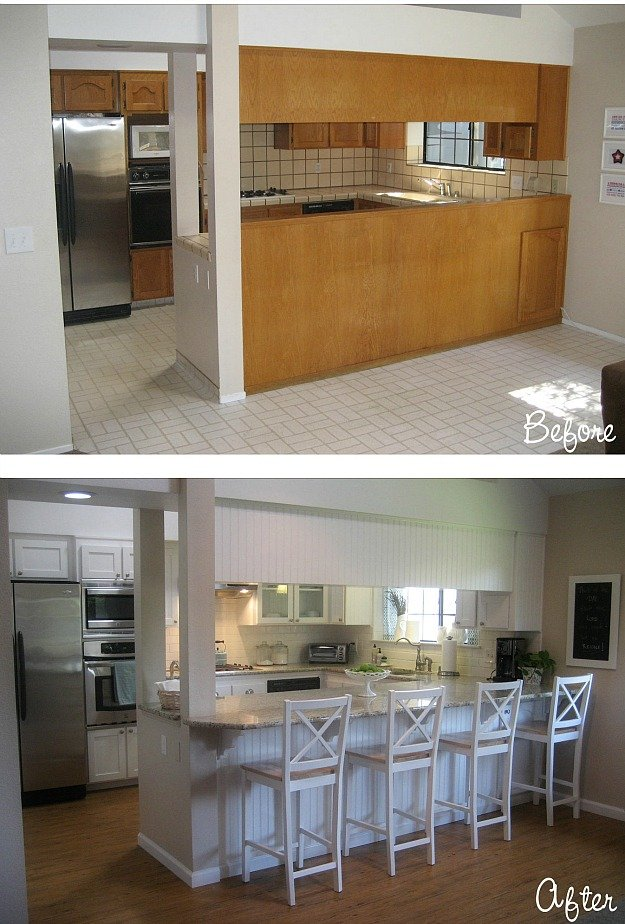 Egy konyha jj sz let se roomlybox for Cheap kitchen remodel ideas before after